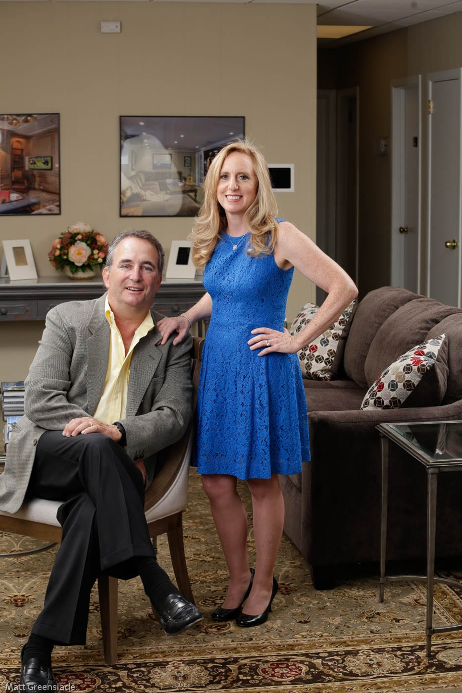 Barry Reiner and Andrea Reiner, President and Vice President of Innerspace Electronics, Inc